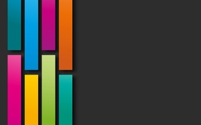 Picture colors, shapes, abstract, colorful, geometry, rainbow, background
