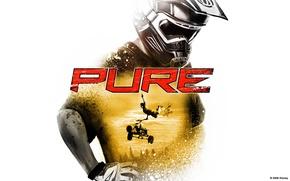 Picture helmet, flight, Disney, ATV, the trick, trick, QUAD, Pure