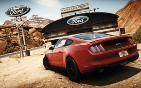Picture Mustang, Ford, Need for Speed, nfs, 2013, Rivals, NFSR, NSF