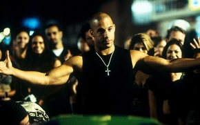 Wallpaper VIN Diesel, The fast and the furious, The Fast and the Furious, Dominic Toretto