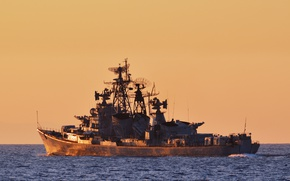 Picture ship, The black sea, Quick-witted, guard