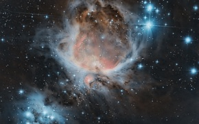 Picture space, stars, infinity, The Orion Nebula
