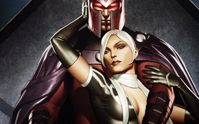 Picture X-Men, Magneto, Comics, Rogue Marvel