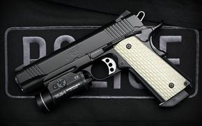 Picture gun, semi-automatic, Kimber Warrior