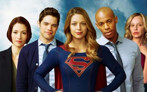 Picture background, The series, actors, Movies, Supergirl, Supergirl, Supergirl
