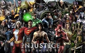 Picture Wonder Woman, Batman, Joker, Green Lantern, Superman, Green Arrow, Lex Luthor, Bane, Catwoman, Batgirl, Harley ...