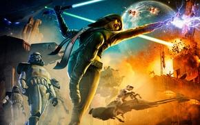 Picture weapons, art, star wars, battle, StarWars