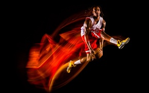 Picture Basketball, athlete, Trajectories