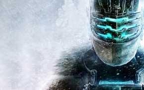 Picture Isaac Clarke, snow, helmet, Visceral Games, Electronic Arts, armor, Dead Space 3, Isaac Clarke