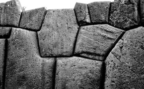 Picture stones, stone, black and white