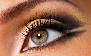 Wallpaper eyes, eyelashes, 149, makeup