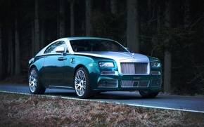Picture tuning, Mansory, Rolls-Royce Wraith