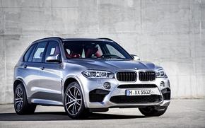 Picture photo, BMW, Grey, Car, 2015, X5 M, Metallic