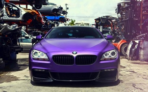 Picture BMW, front, vossen, 650i, F13