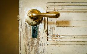 Picture background, room, the door