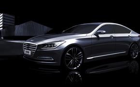 Picture Hyundai, Genesis, teaser, Hyundai, G90