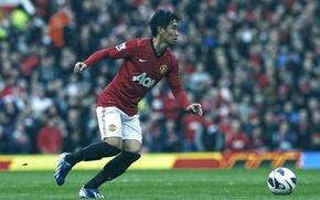 Picture Sport, Football, Football, Manchester United, Old Trafford, Manchester United Football Club, Old Trafford, Shinji Kagawa, …