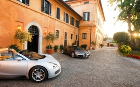 Wallpaper house, veyron, bugatti
