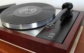 Picture player, vinyl, Linn LP-12