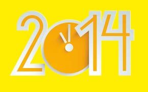 Wallpaper new year, holidays, 2014