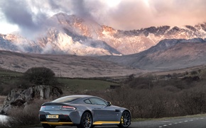 Picture auto, mountains, Aston Martin, Aston Martin, supercar, V12, Vantage S, Sport-Plus Pack