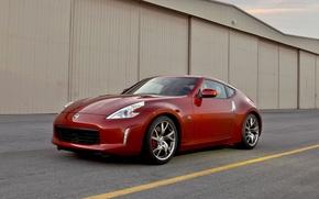 Wallpaper Nissan, 350Z, coupe