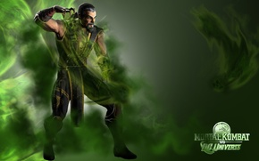 Picture fighting, Shang Tsung, Mortal Kombat vs DC Universe
