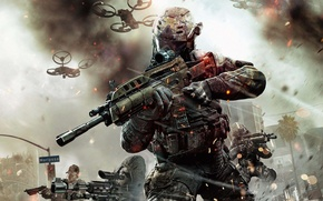 Picture Call of Duty, weapon, COD, men