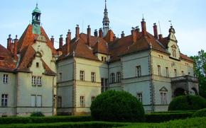 Picture Park, Ukraine, Transcarpathia, the shenbournes ' hunting Lodge, the boxwood, Schoenborn
