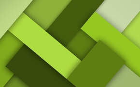 Picture green, colors, pattern, squares