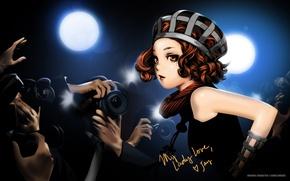 Picture girl, anime, celebrity, art, Range Murata
