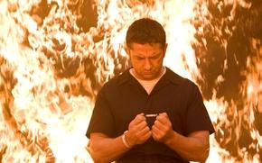 Picture Fire, Gerard Butler, Law Abiding Citizen