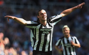 Picture football, Newcastle, Carroll