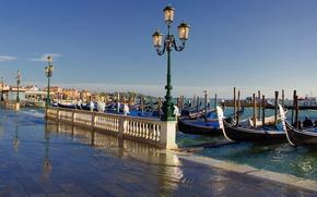 Picture lights, Italy, Venice, Italy, gondola, Venice, Italia, Venice, gondola