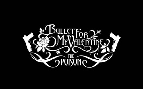 Picture group, album, logo, poison, metalcore, cover, metalcore, bullet for my valentine, the poison, bfmv
