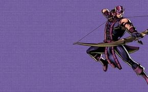 Picture Figure, Marvel Comics, Hawkeye, Hawkeye