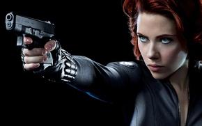 Wallpaper Scarlett Johansson, Black widow, Natasha Romanoff, Natasha Romanoff, The Avengers, The Avengers, Scarlett Johansson, marvel, ...
