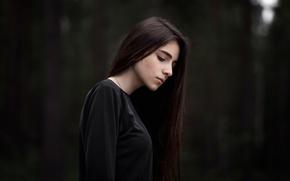 Picture girl, bokeh, Maxim Guselnikov, soulportrait, Johnny Miller, Johnny Miller