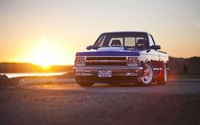 Picture sunset, Chevrolet, Sport, S10