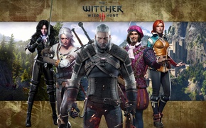 Picture the Witcher, rpg, Geralt, Triss, Buttercup, the wild hunt, wild hunt, the witcher 3, cd …