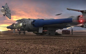 Picture Star Citizen, space ship, MISC Reliant Kore