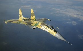 Wallpaper jet, fighter, Wallpaper, BBC, generation, Russia, OKB, Su-35S, Russian, multipurpose, super-maneuverable, 4++, Dry, aviation, the ...