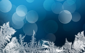 Picture patterns, frost, bokeh