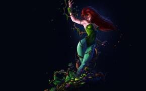 Picture background, plants, poison ivy, DC Comics, Poison, Pamela Lillian Isley, Pamela Lillian Isley