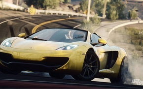 Picture Mercedes, Need for Speed, nfs, 2013, Rivals, NFSR, NSF, MP412C Spider