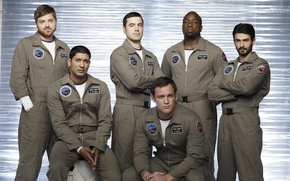 Picture The series, astronauts, Movies, the main actors of the series, Defying gravity