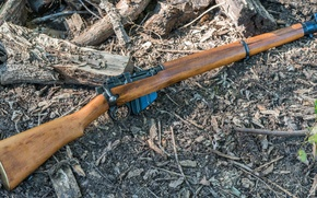 Picture weapons, 1942, Lee-Enfield, a repeating rifle