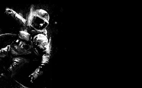 Picture background, the suit, costume, weightlessness, astronaut