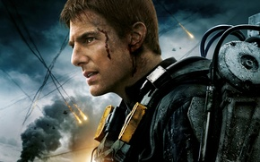 Picture Action, Fantasy, Sky, Darkness, Men, Wallpaper, Edge, Helicopter, Building, Tom Cruise, Year, Face, Cloud, Movie, …