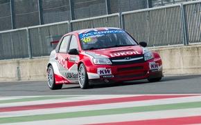 Picture track, Italy, race, Lada, racer, champion, practice, Granta, racing car, WTCC, Monza, Lada Lukoil Sport, ...